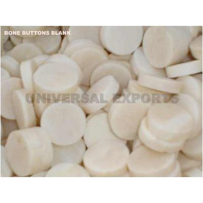 Bone Button Blank  from India
