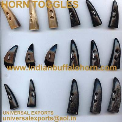 Horn Toggles  from India